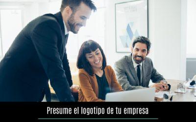 Presume el logotipo de tu empresa