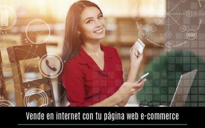 Vende en internet con tu página web e-commerce