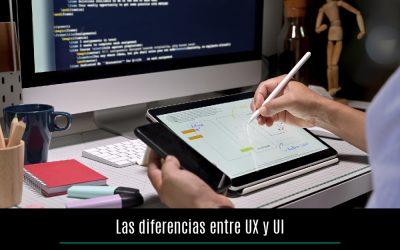 Las diferencias entre UX y UI