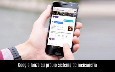 Google lanza su propio sistema de mensajería