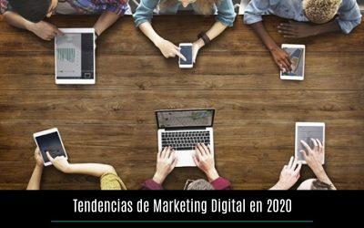 Tendencias de marketing digital en 2020