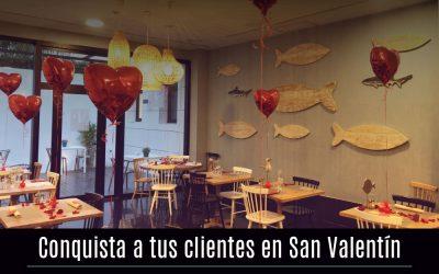 Conquista a tus clientes en San Valentín