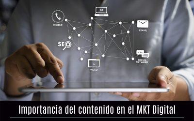 El contenido es clave en una estrategia de marketing