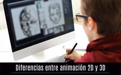 Diferencias entre animación 2D y 3D