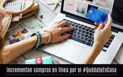 Incrementan compras en línea por el #QuédateEnCasa