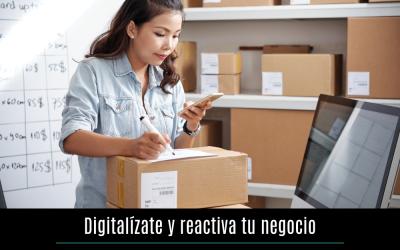 Digitalízate y reactiva tu negocio